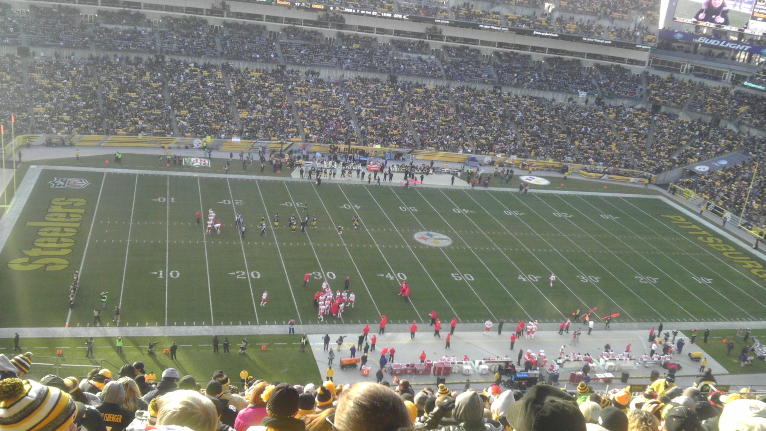 Multitud en Heinz Field