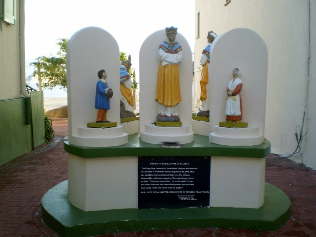 Monument to Our Lady of la Salette