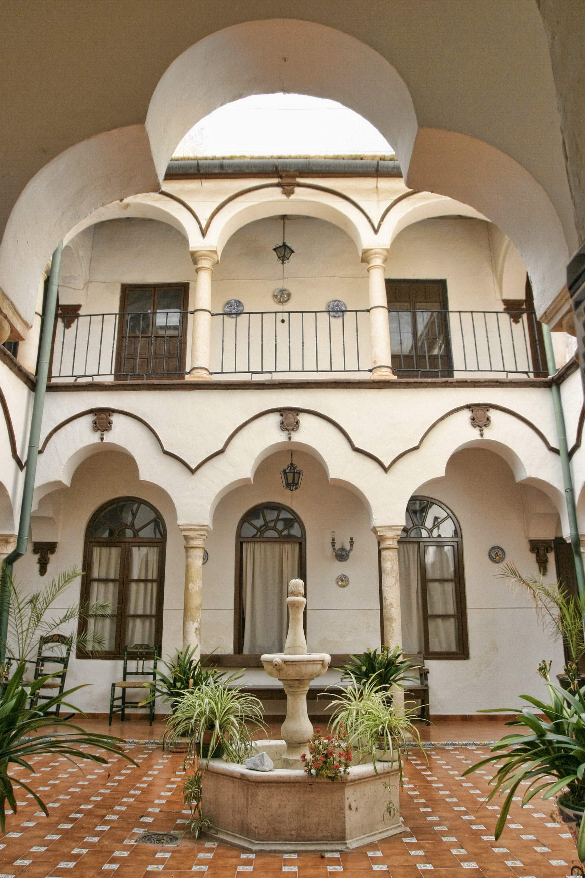 Courtyard of the Convent of the Visitation Las Filipenses of Ecija