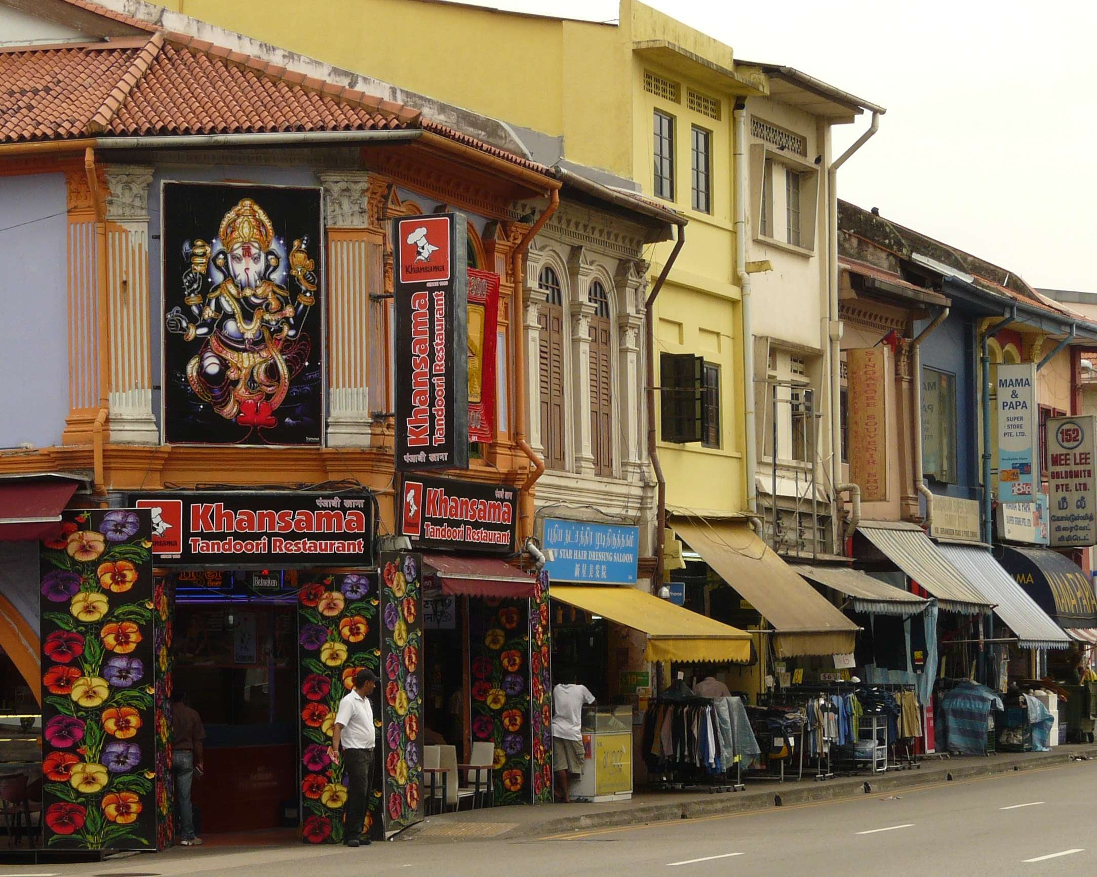 Compras en Little India