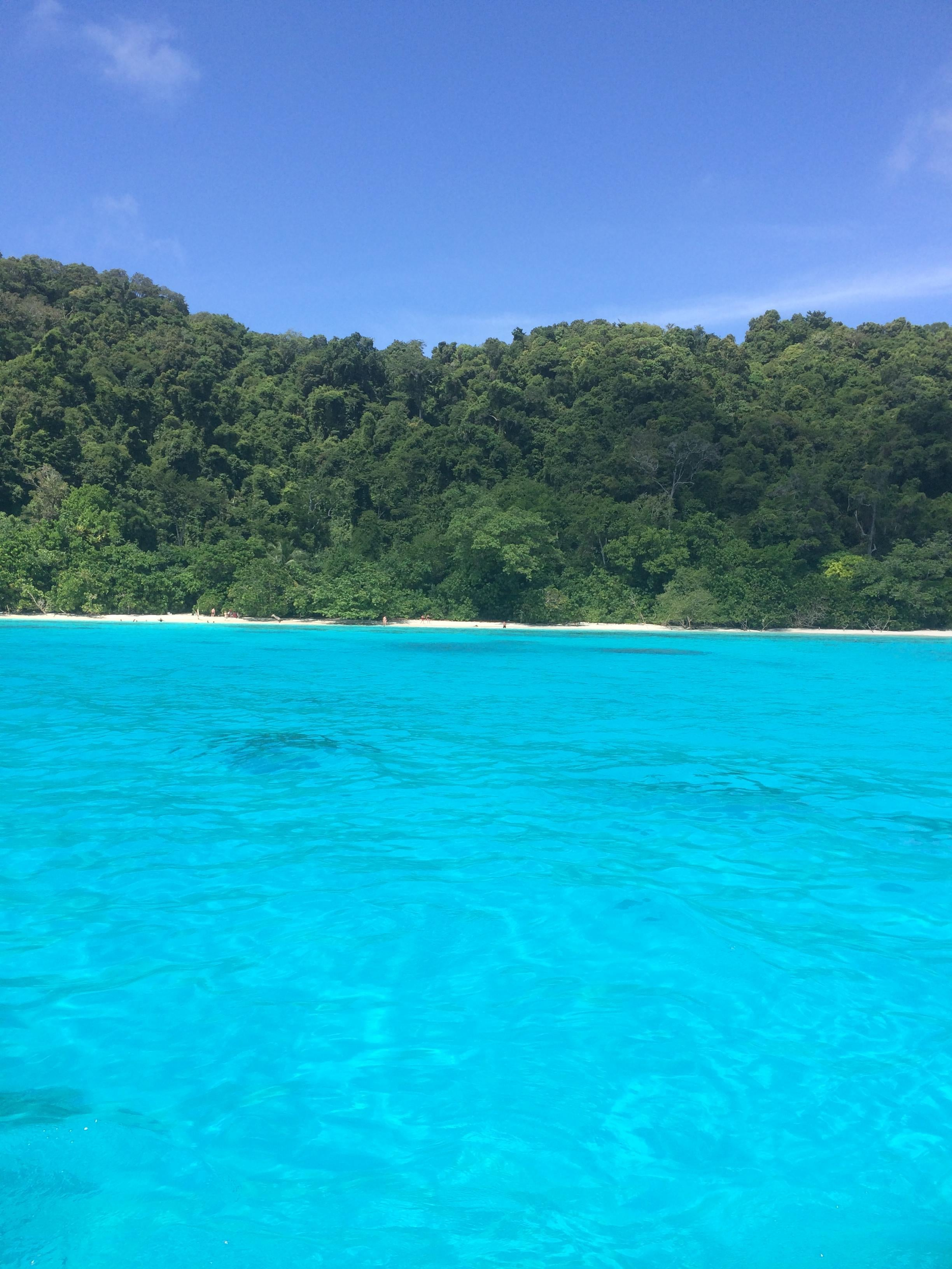 Embalse en Islas Similan