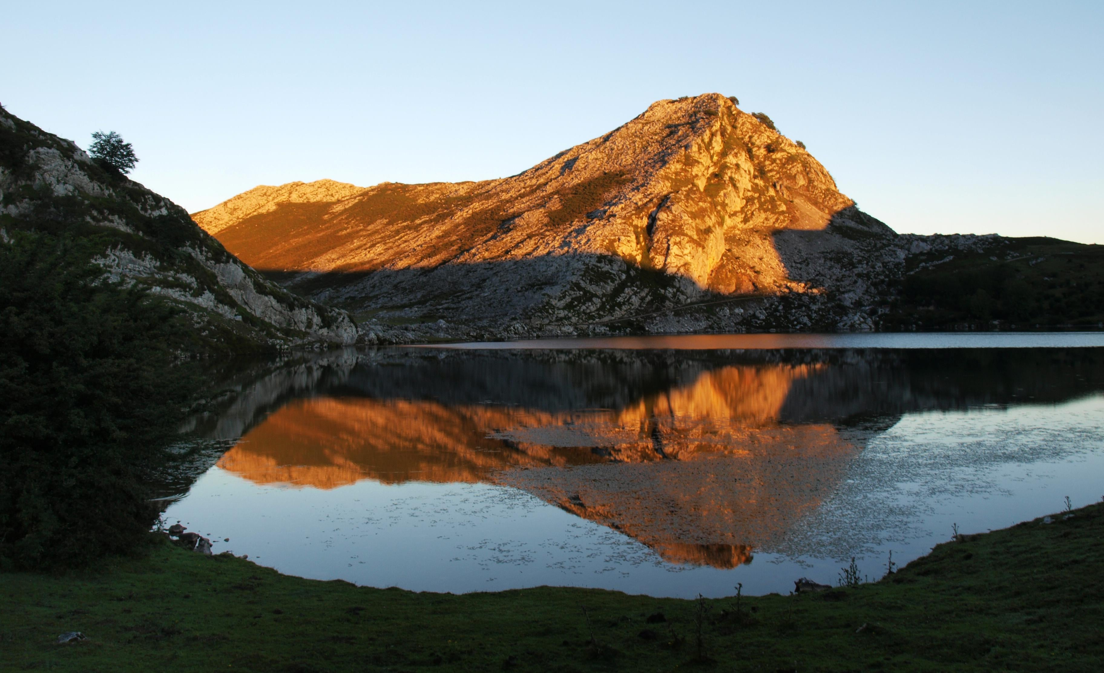 Badlands in The Lakes of Covadonga - Enol and Ercina lakes