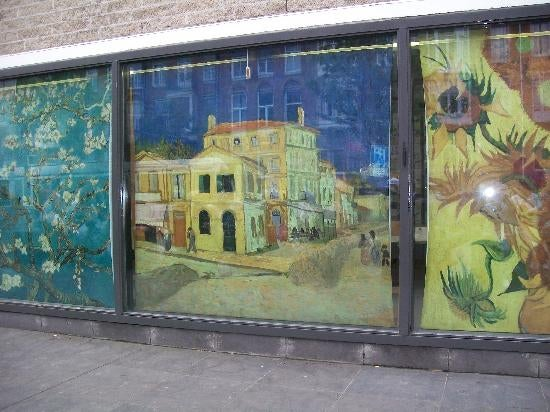 Pared en Museo Van Gogh