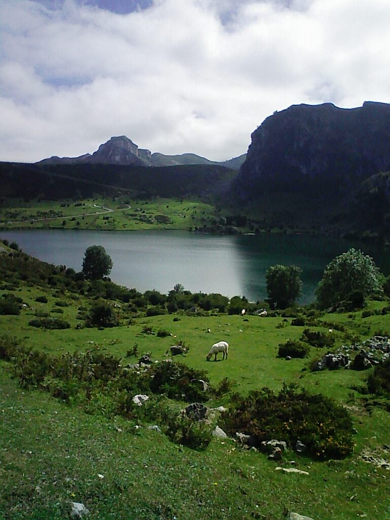 Cloud in The Lakes of Covadonga - Enol and Ercina lakes