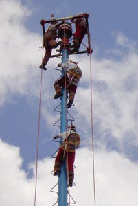 The voladores of Papantla