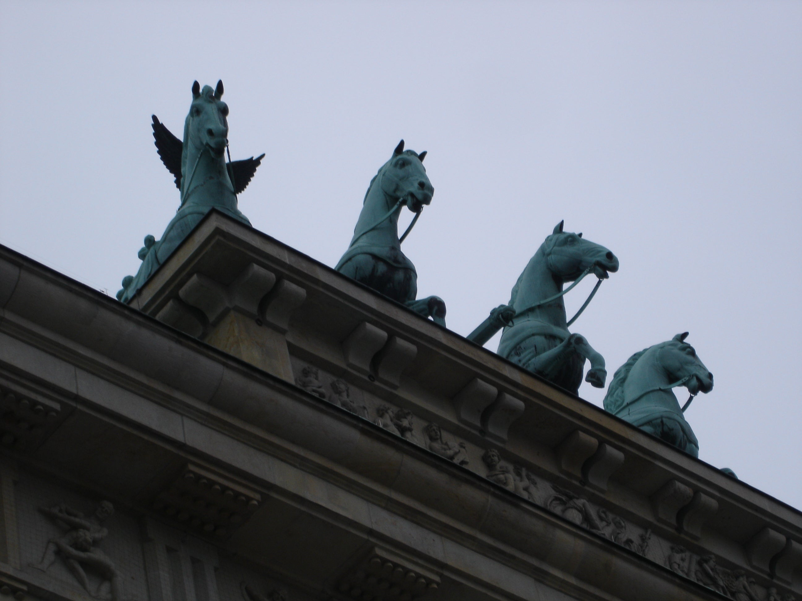 Roof in Brandenburg Gate