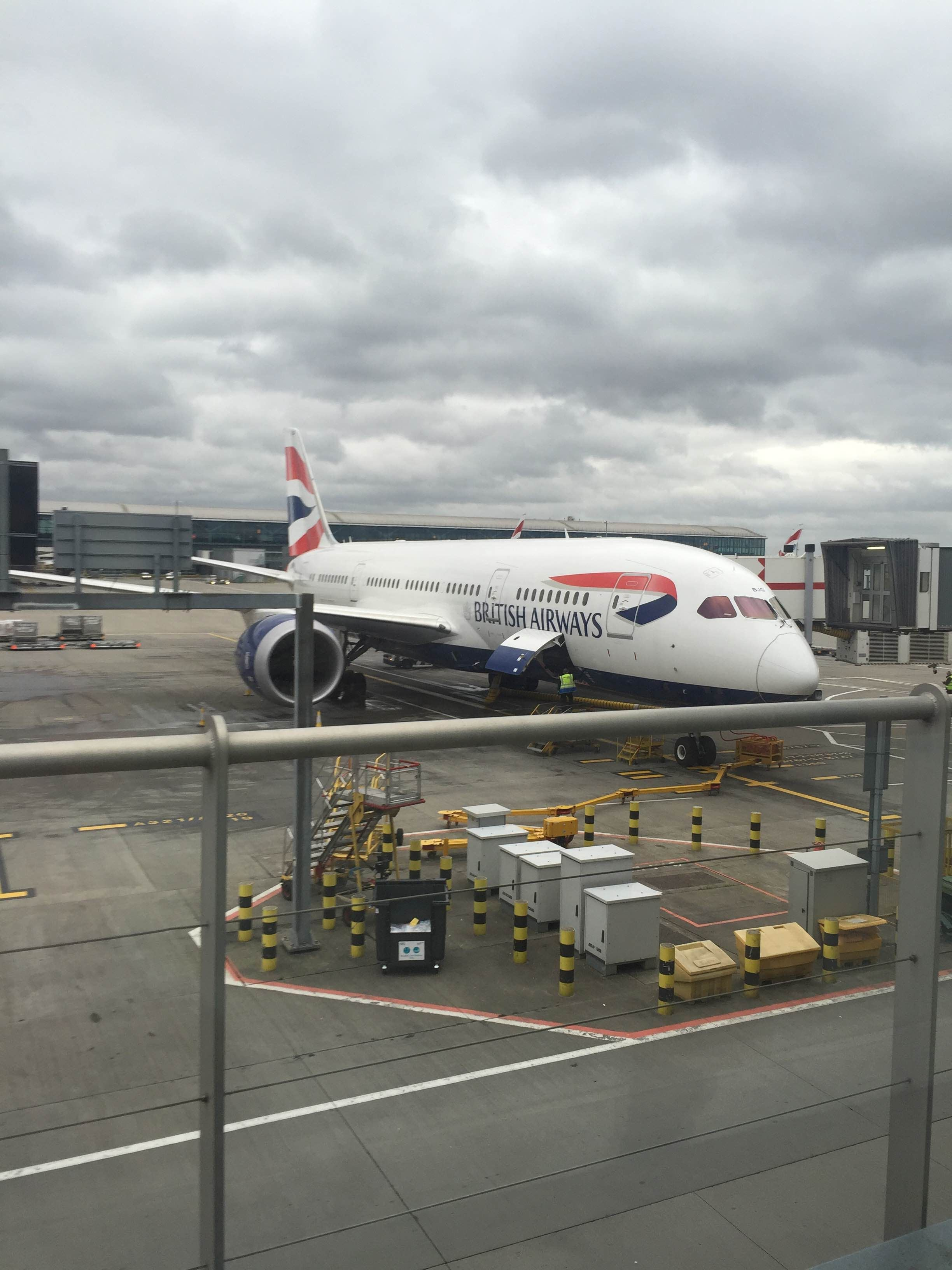 Despegue en Aeropuerto de Londres - Heathrow