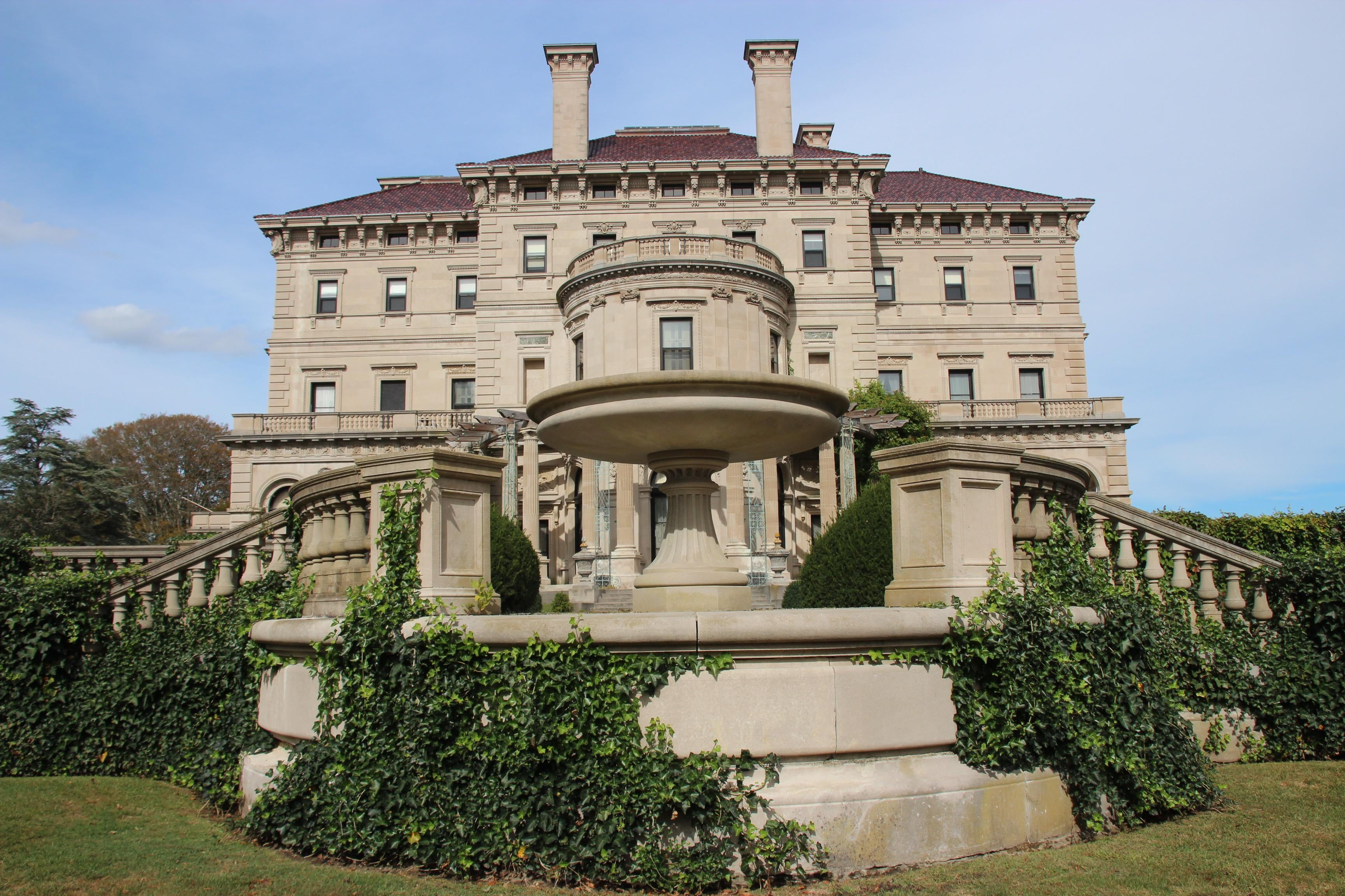 Castillo en The Breakers Mansion