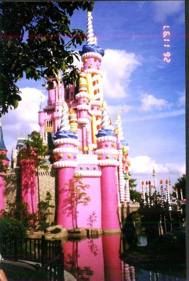 Color rosa en Walt Disney World