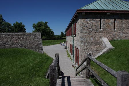 Fort Erie, 1800 military complex