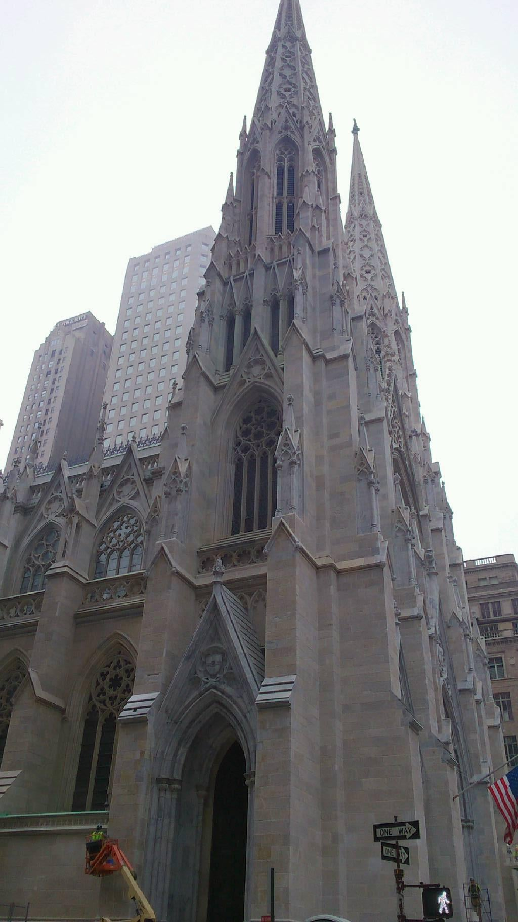 Catedral en Rockefeller Center