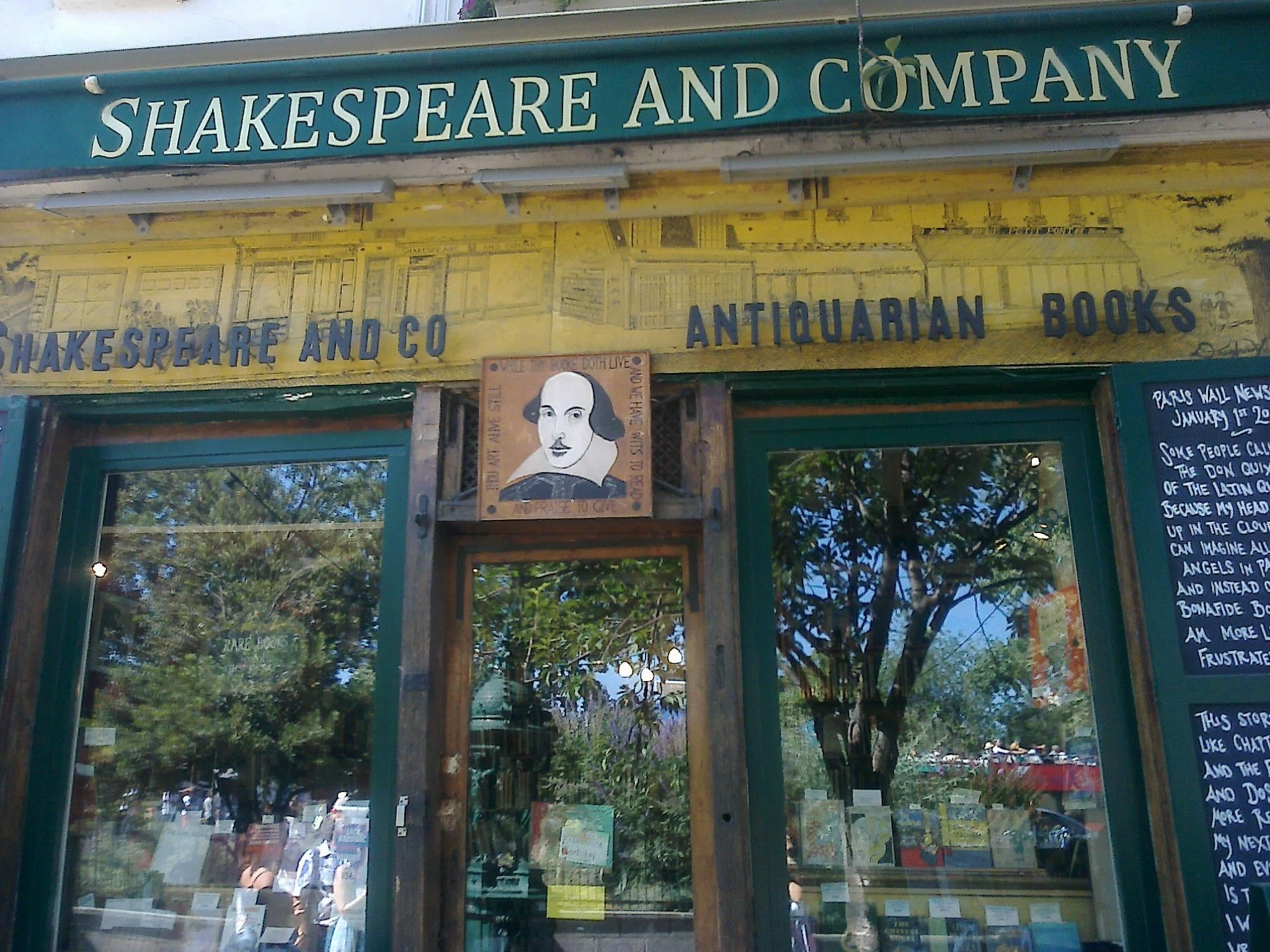 Negocio en Shakespeare & Co.