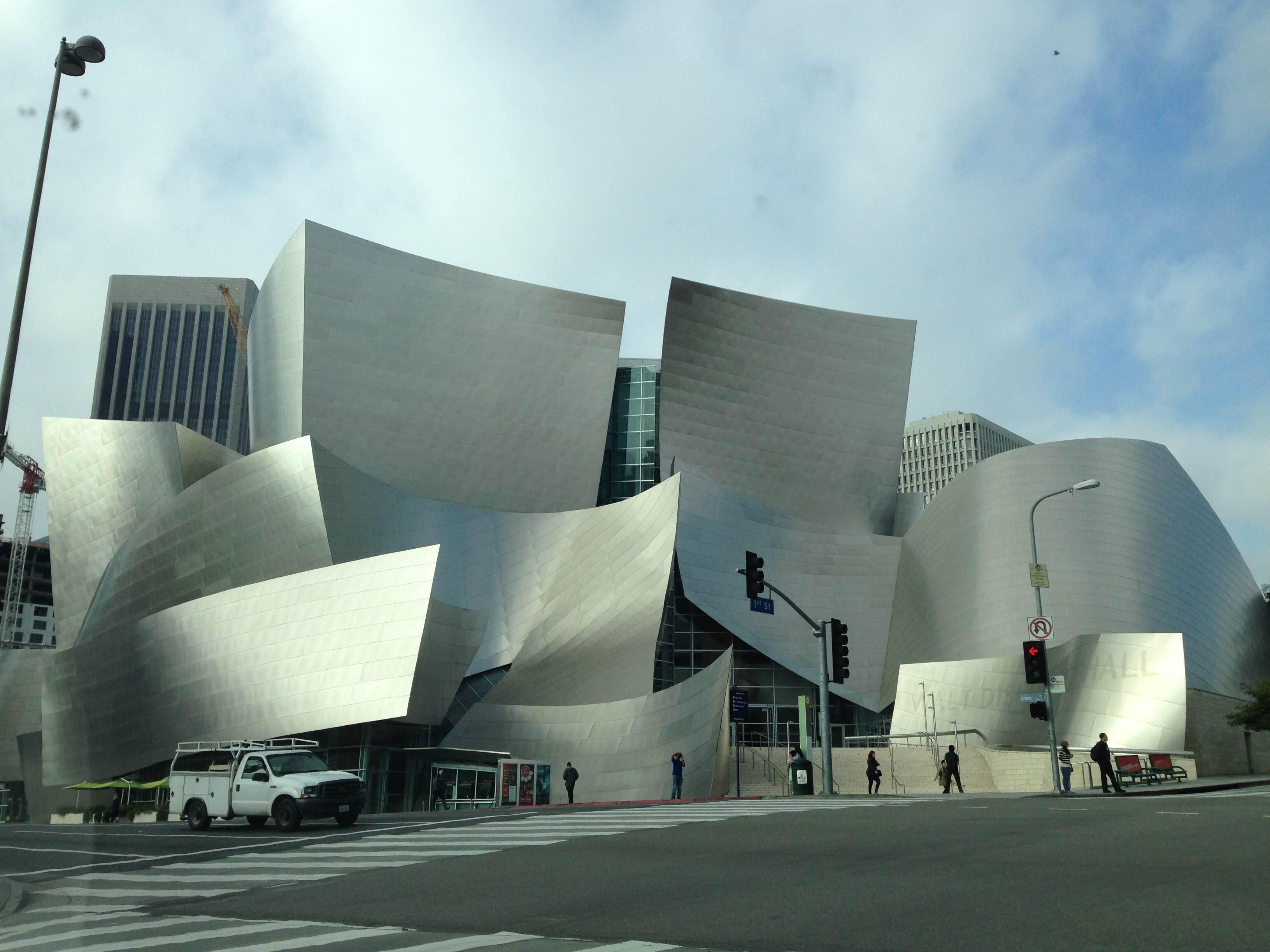 Edificio en Walt Disney concert hall