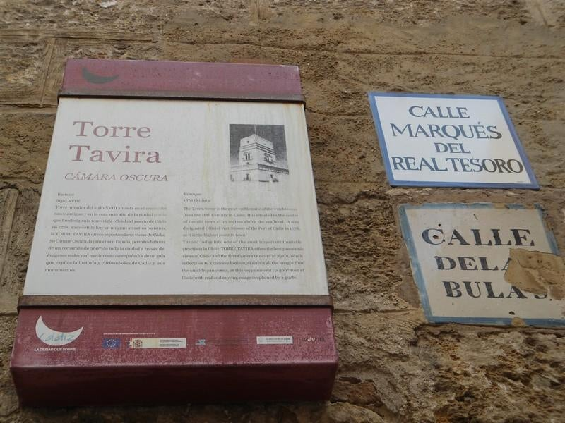 Documento en Torre Tavira