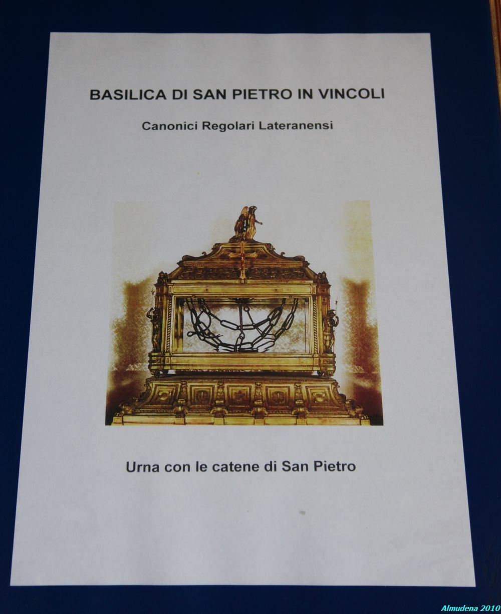Documento en San Pietro in Vincoli