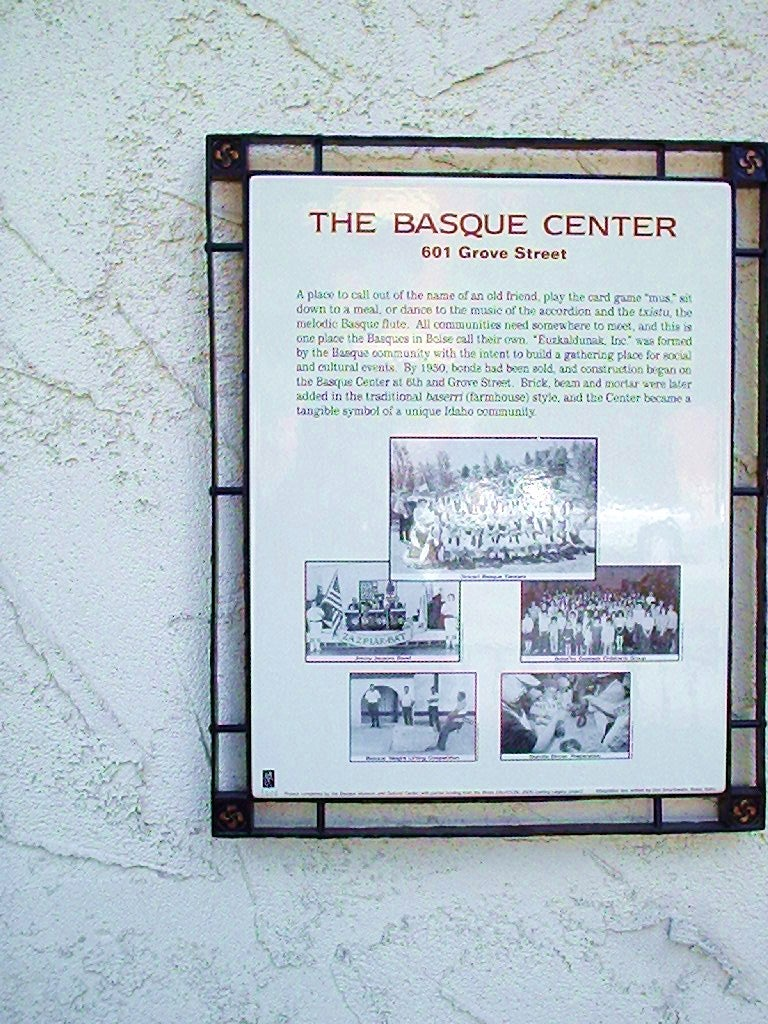 The Basque Museum & Cultural Center