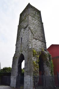 Red Abbey Tower