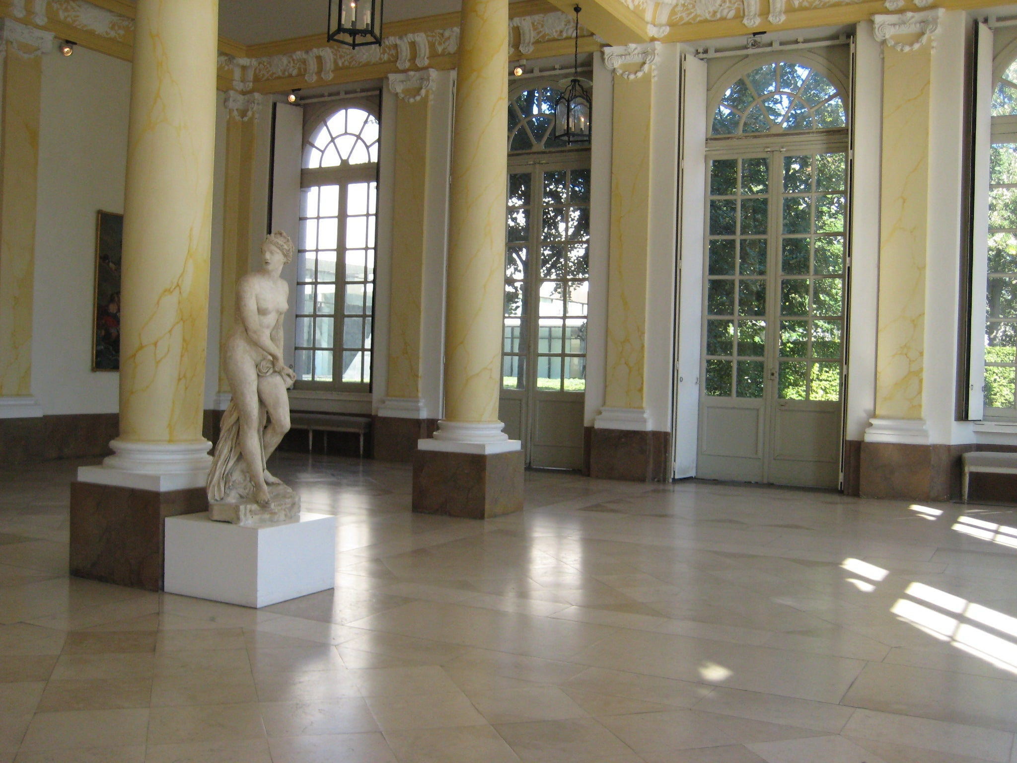 Sala en Museo de Bellas Artes de Nancy