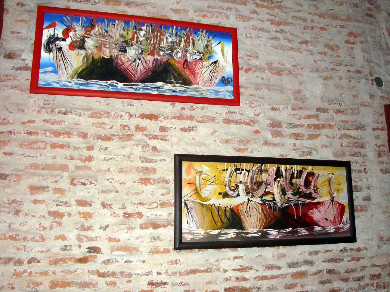 Pared en Napolitano. Pizza & Pastas