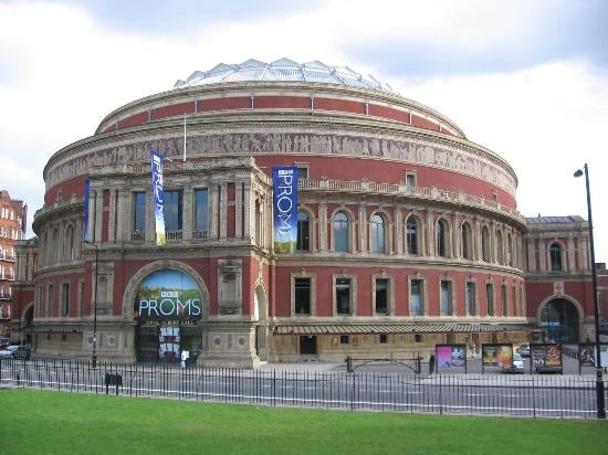Edificio deportivo en Royal Albert Hall