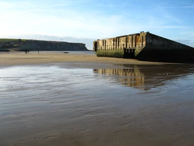 Playa de Arromanches