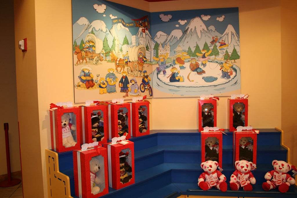 Sala en Build a Bear Workshop