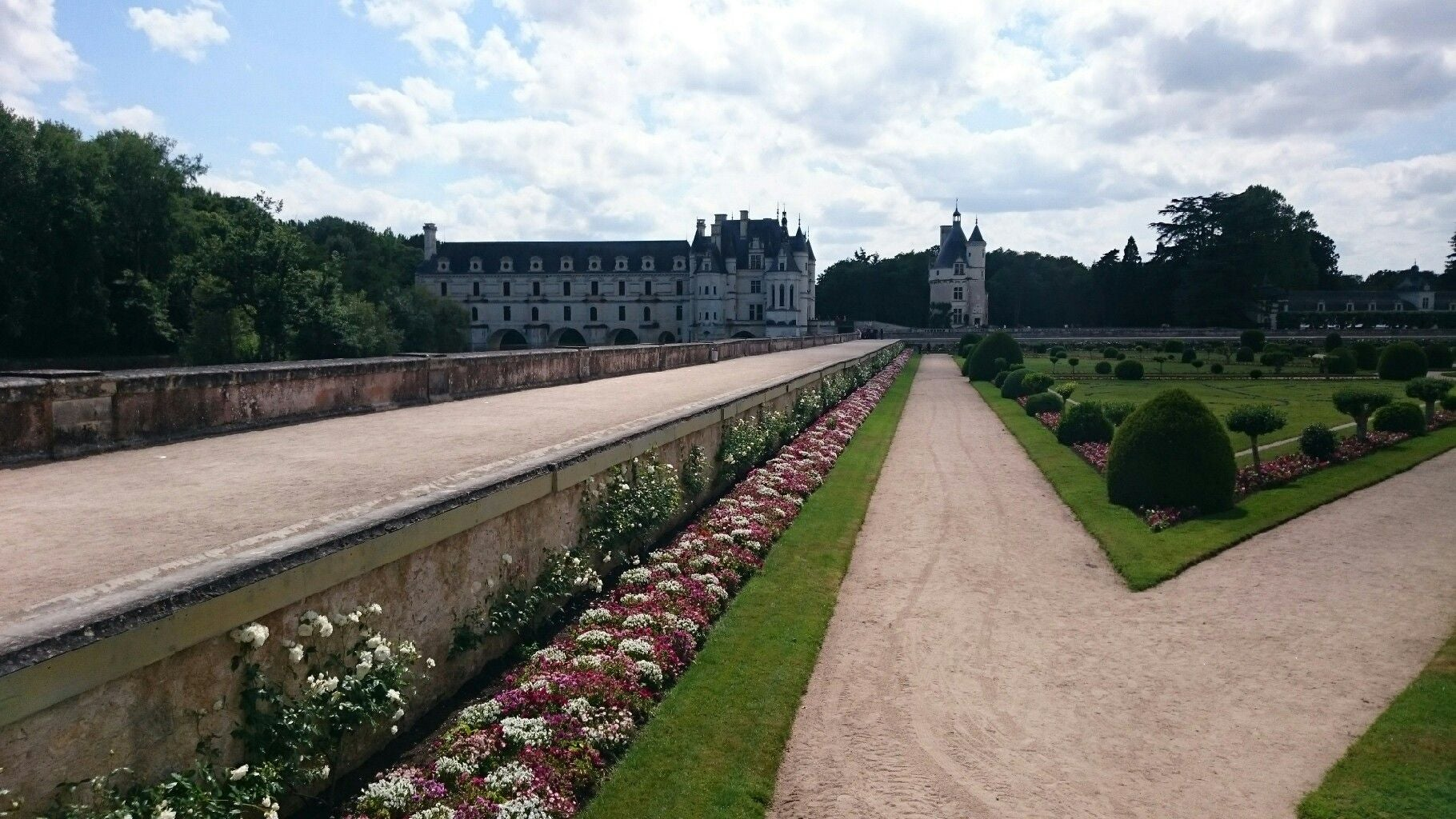 Pared en Castillo de Chenonceau