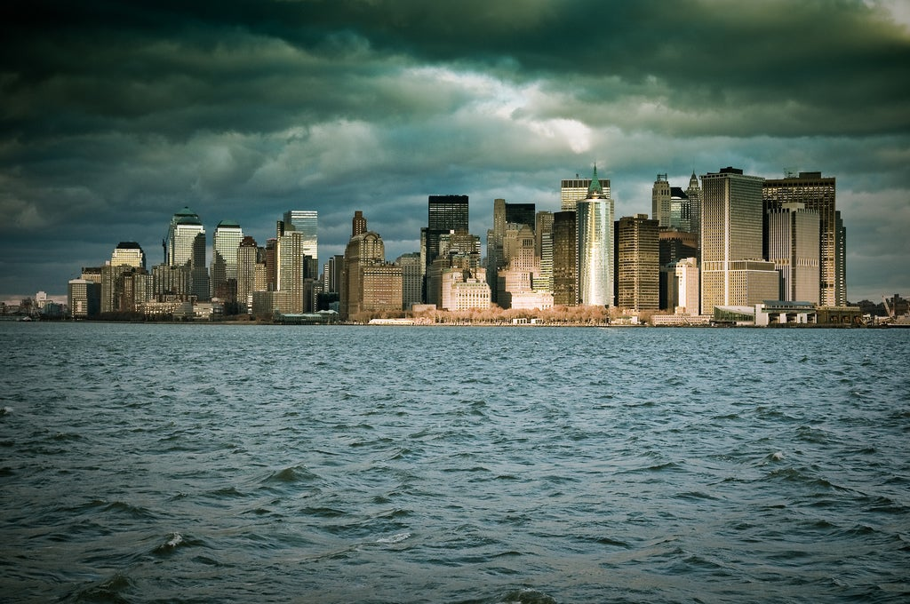 Mar en Manhattan