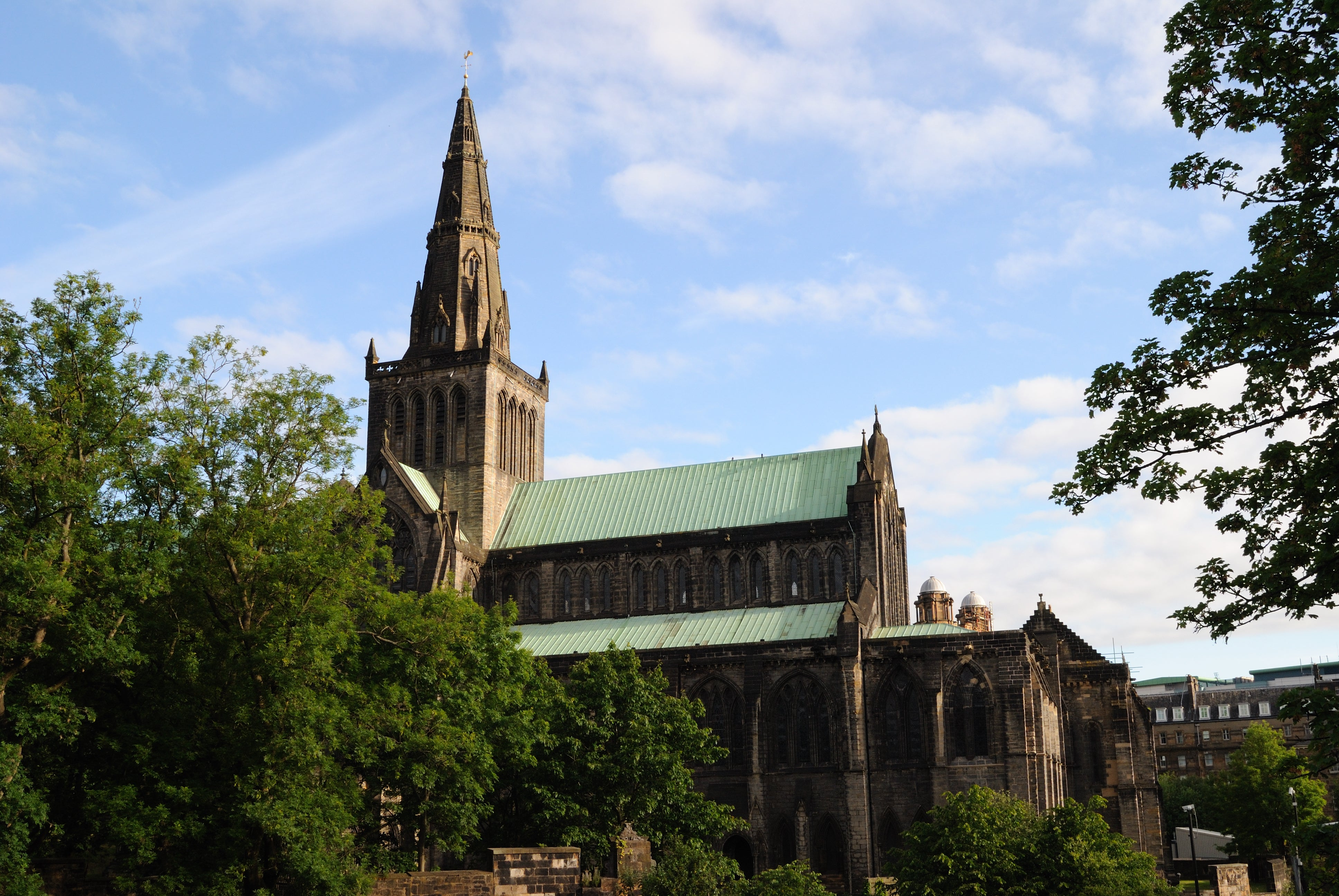 Iglesia en Catedral de Glasgow - High Kirk