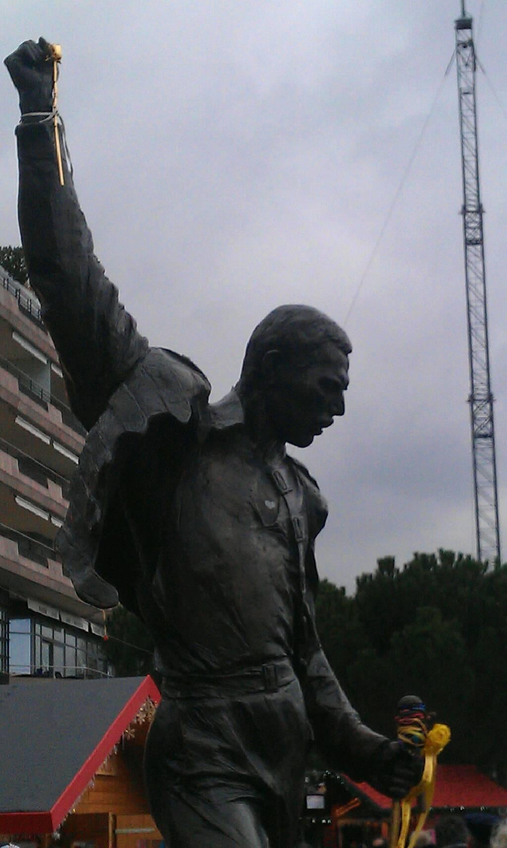 Memorial en Estatua Freddie Mercury