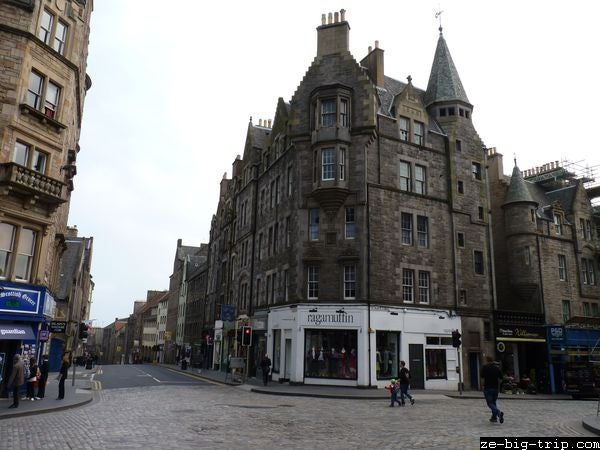 Ciudad en Royal Mile