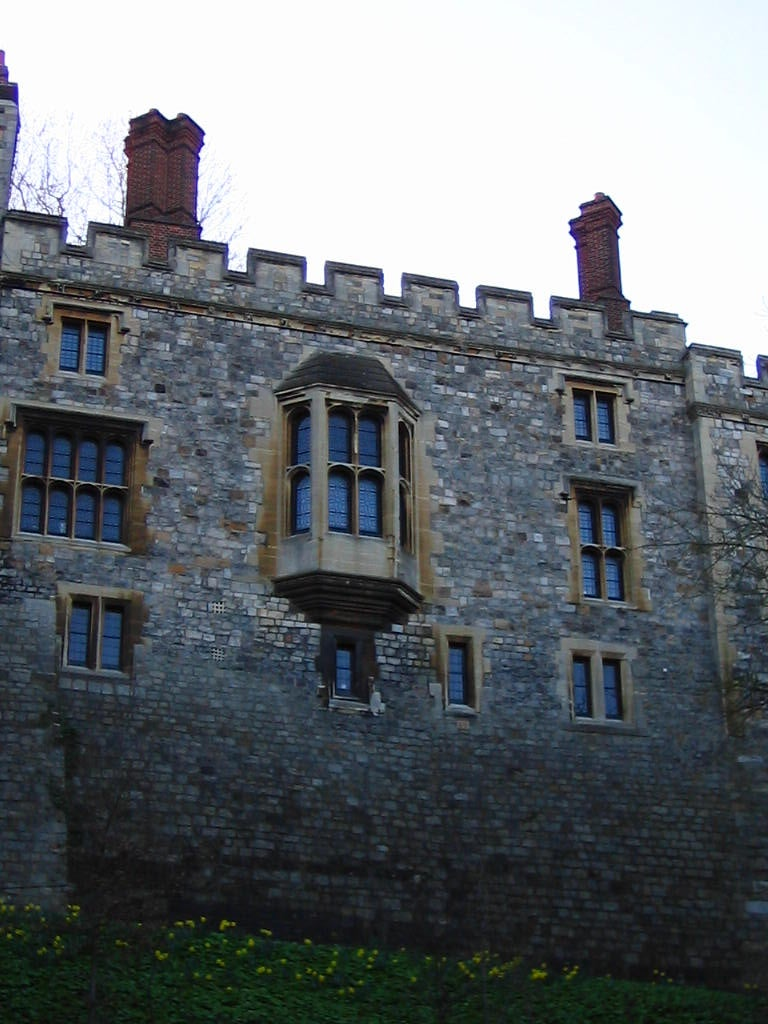 Ventana en Castillo de Windsor