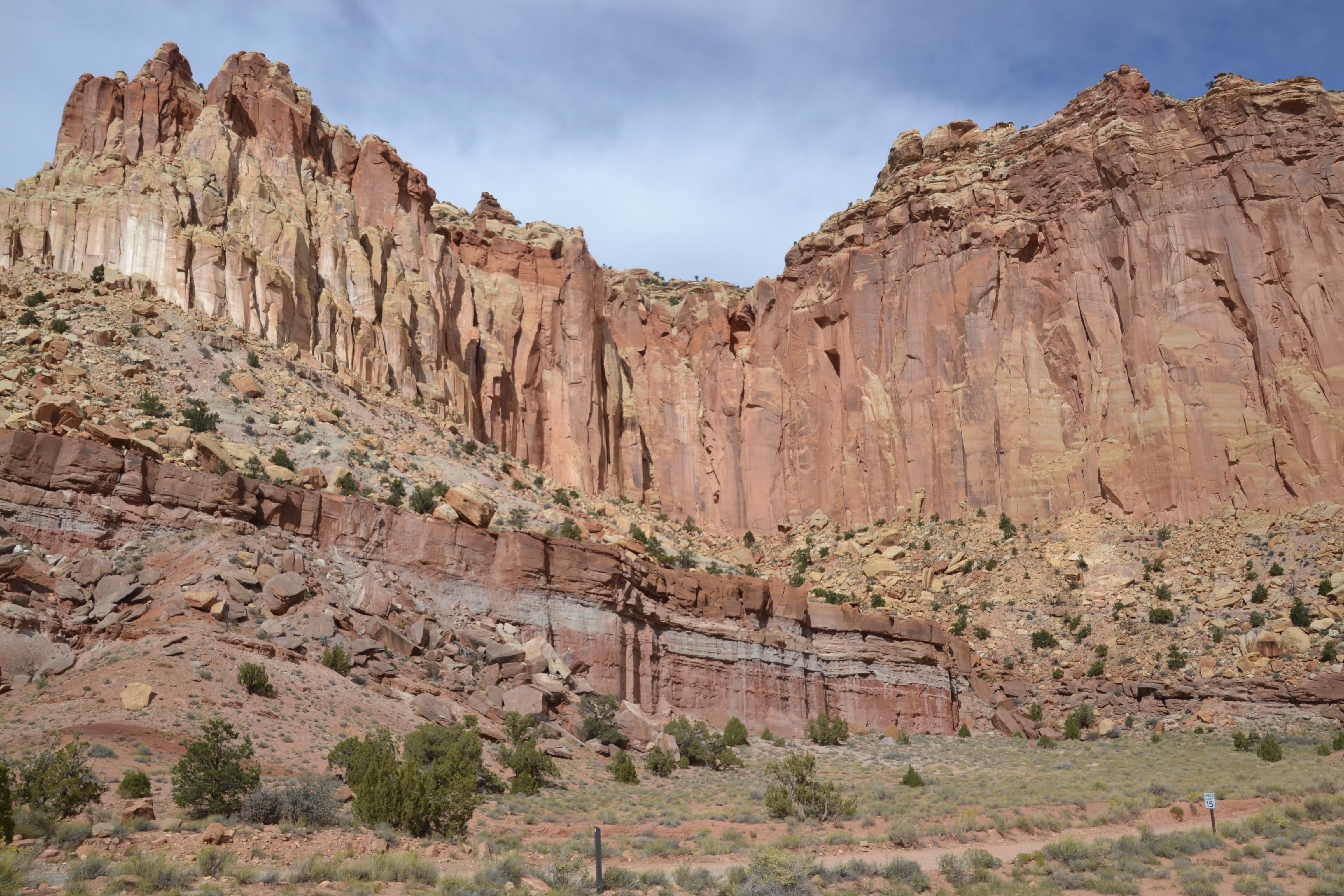 Valle en Capitol Reef National Park