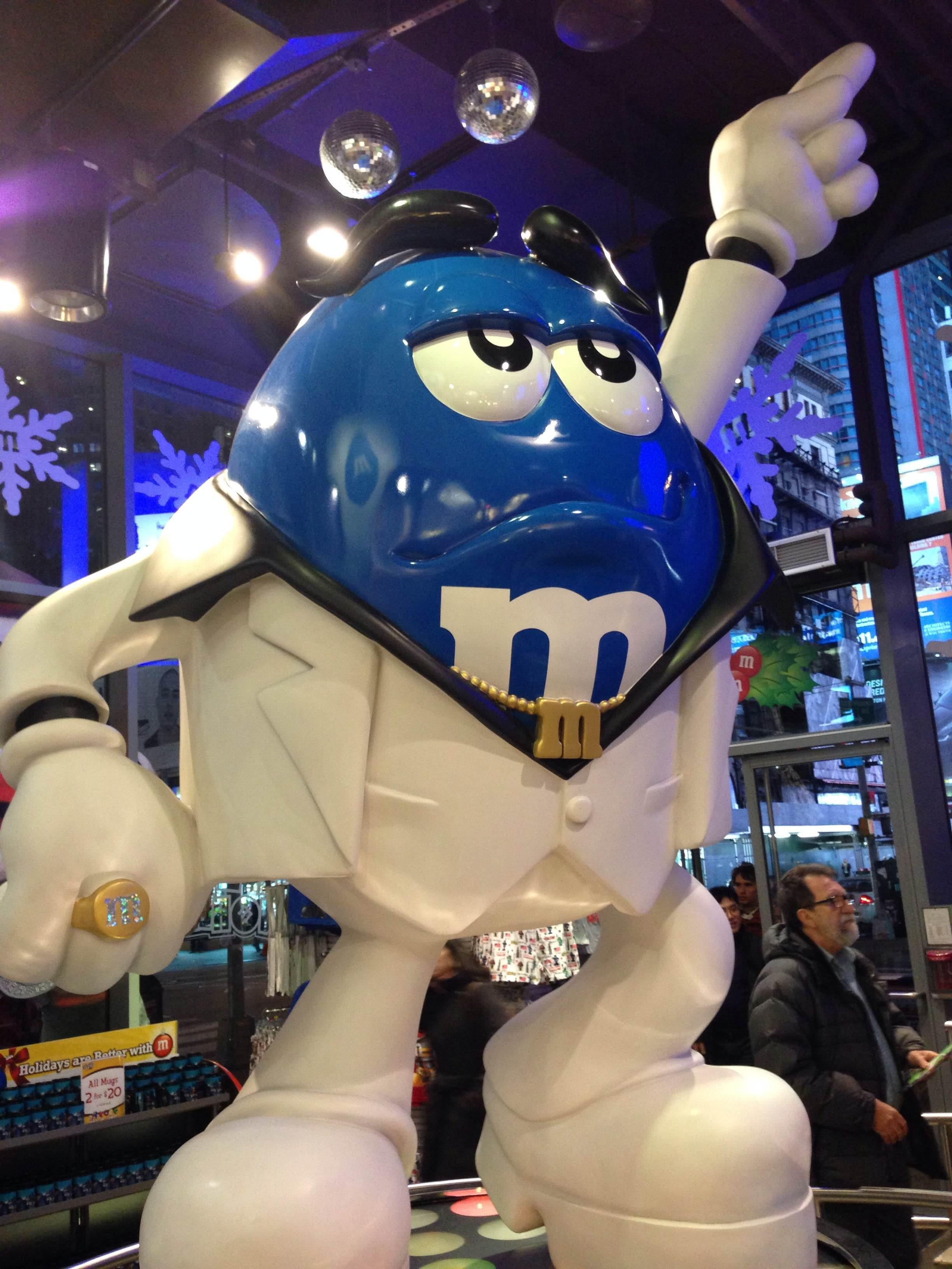 Figura en M&M'S World