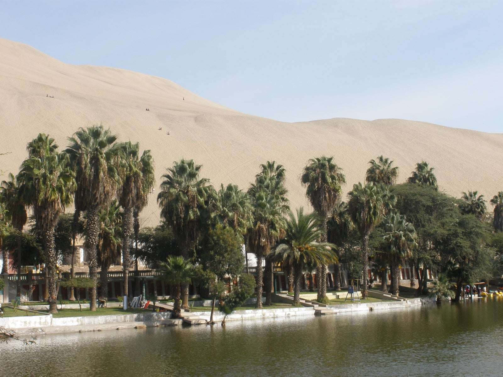 Embalse en Oasis de Huacachina
