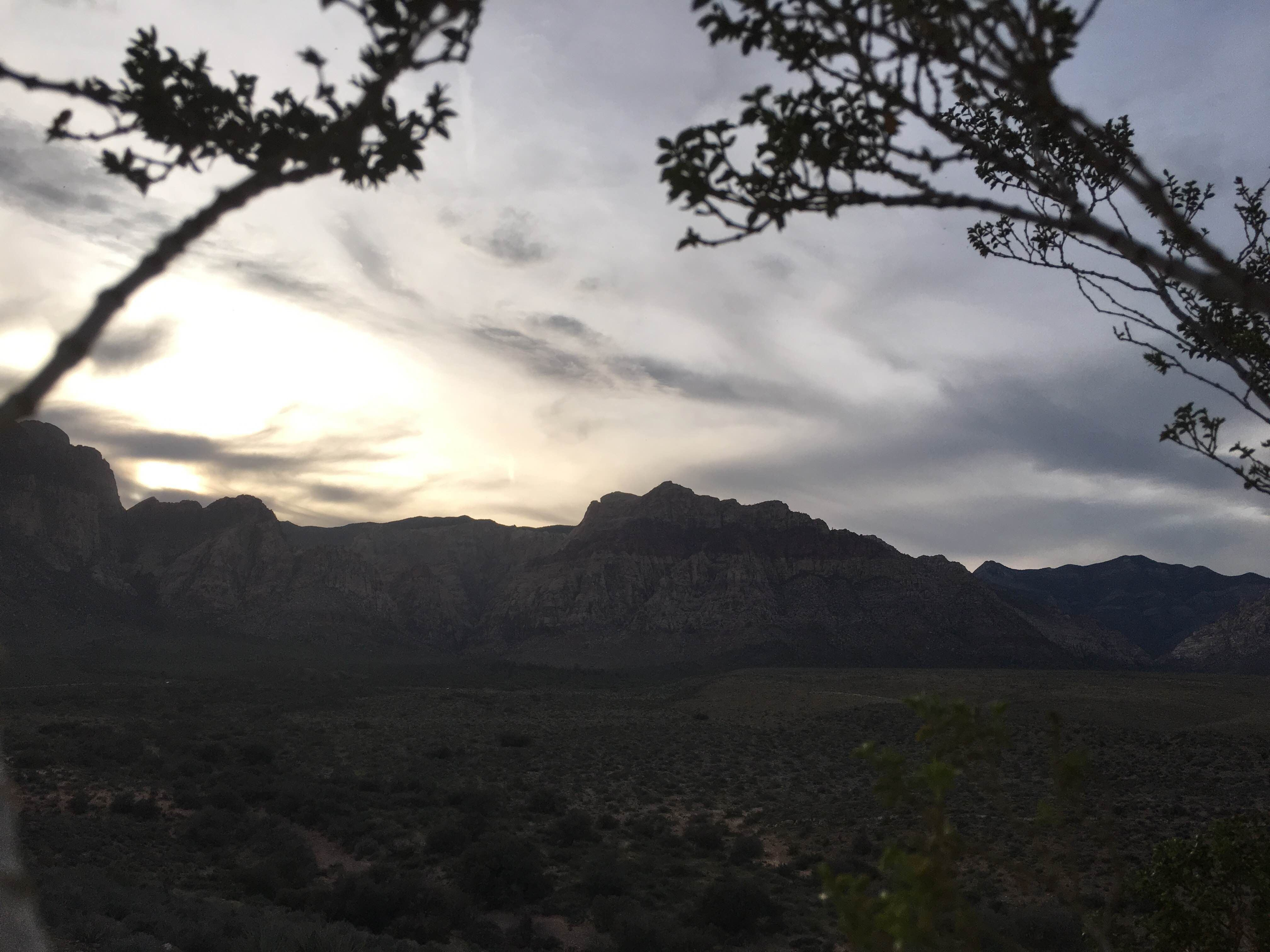 Lago en Red Rock Canyon National Conservation Area