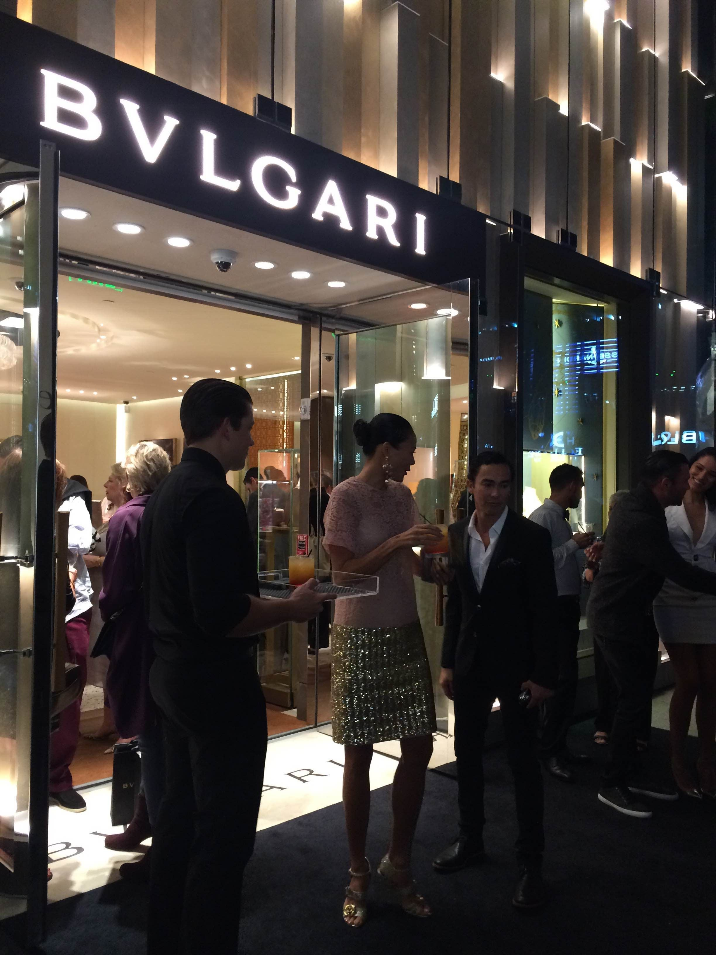 Plato en Bvlgari Miami Design District