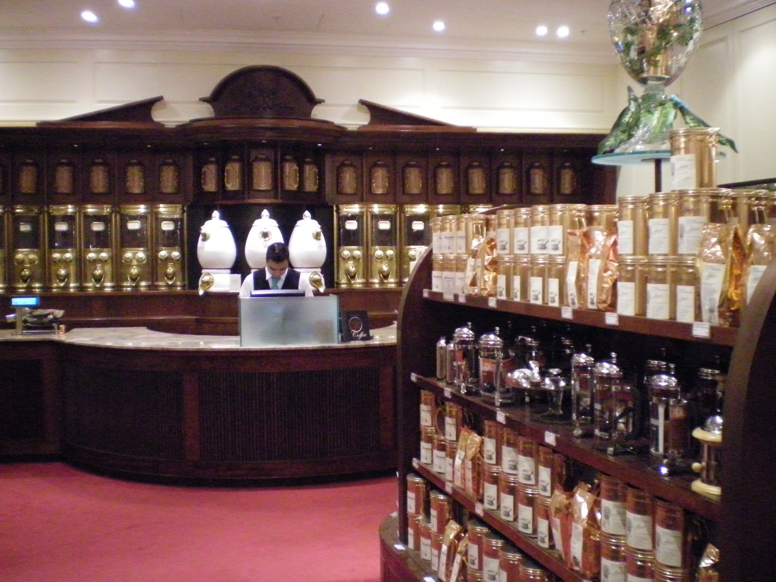 Edificio en Fortnum and Mason