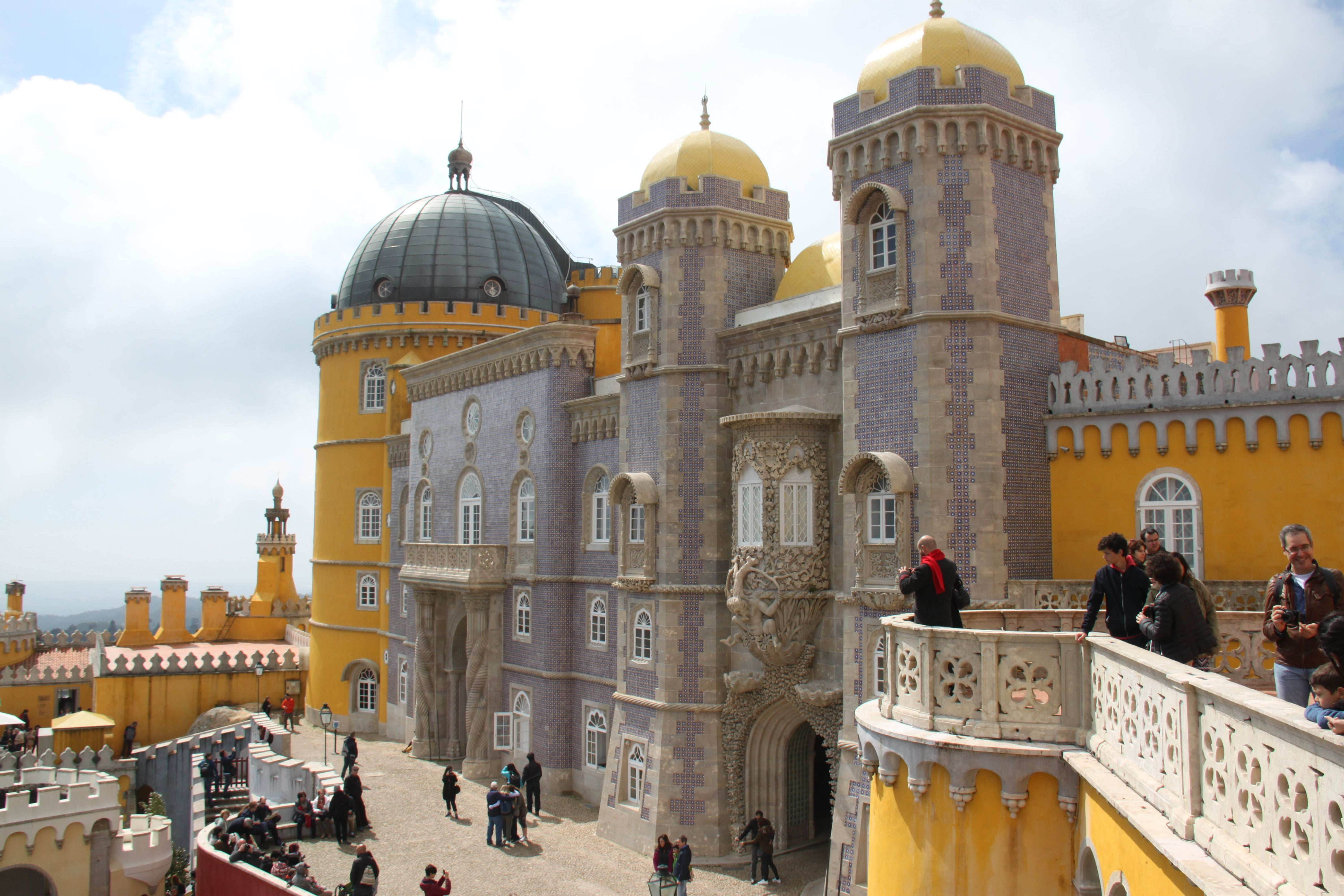 Palace in Pena National Palace