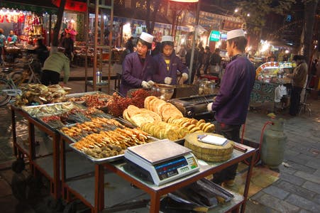Restaurants in the Muslim Quarter