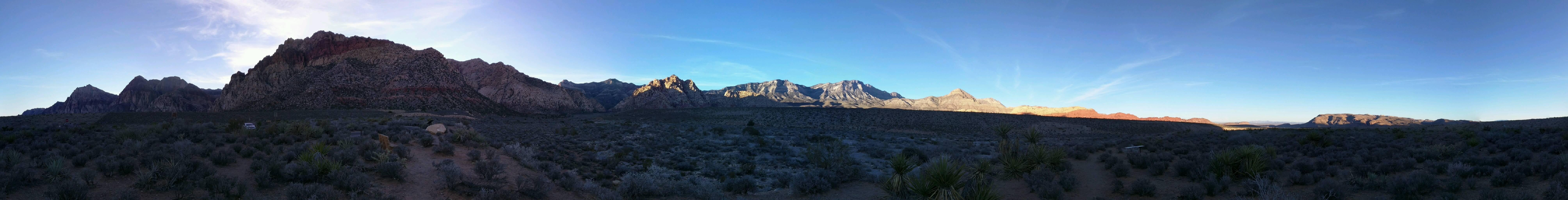Costa en Red Rock Canyon National Conservation Area