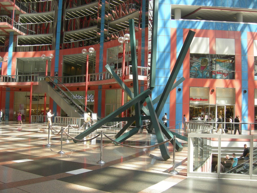Parque de atracciones en James R. Thompson Center