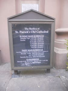 St. Patrick's Old Cathedral