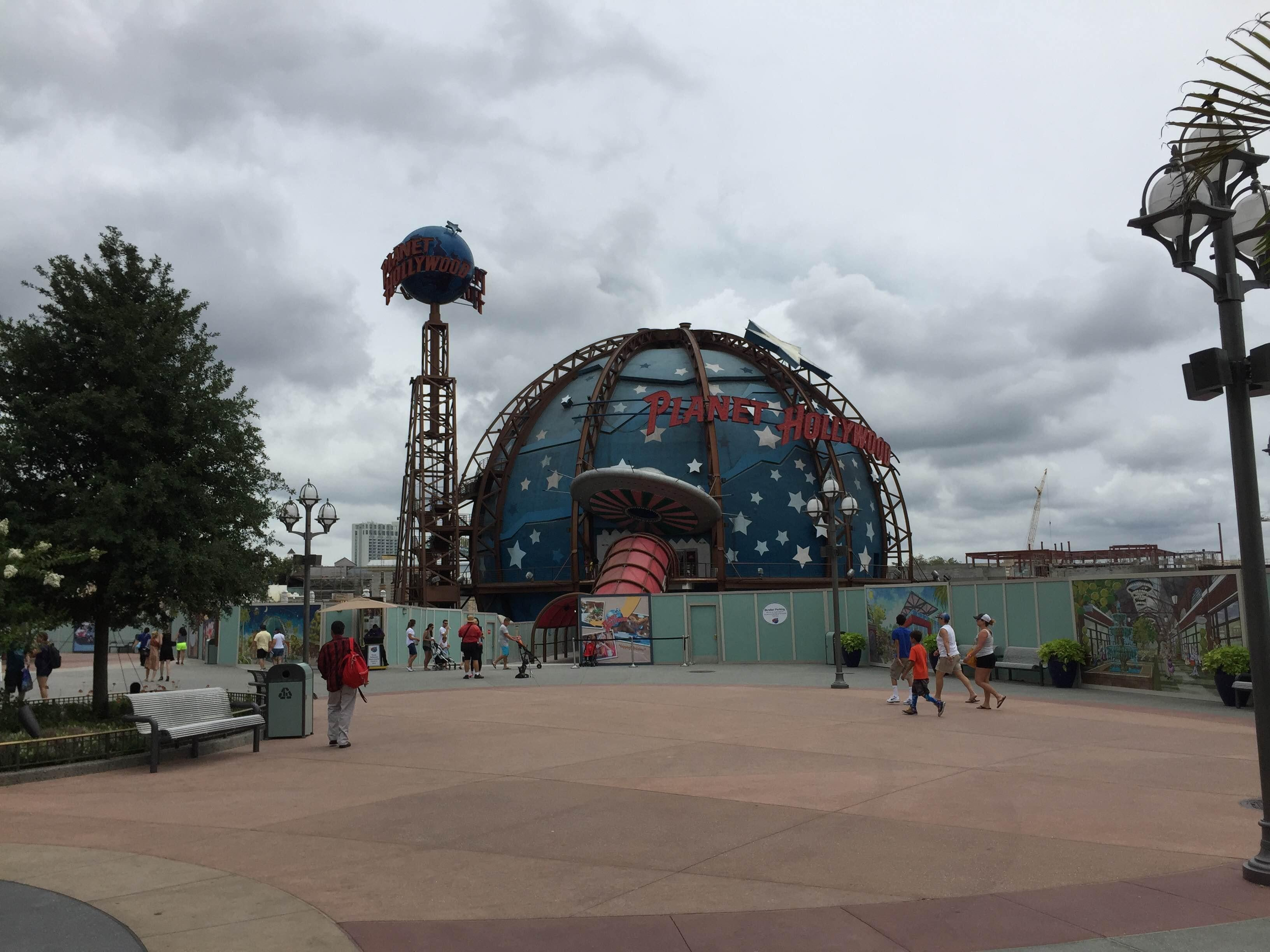 Parque de atracciones en DisneyWorld Downtown