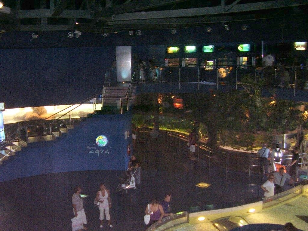 Estadio en L'Aquarium de Barcelona
