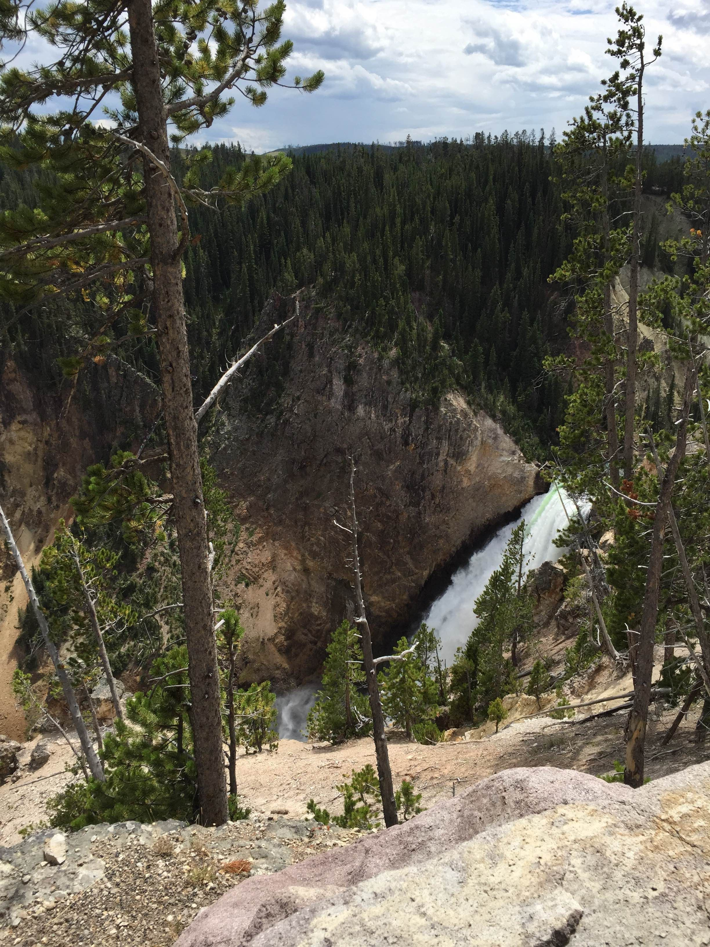 Lower Falls en Yellowstone