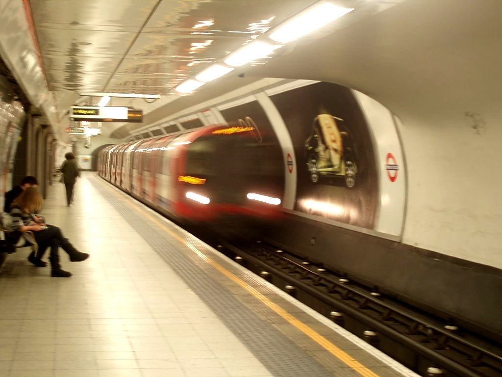 Transporte en London Tube