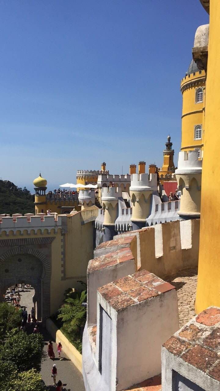 Sky in Pena National Palace