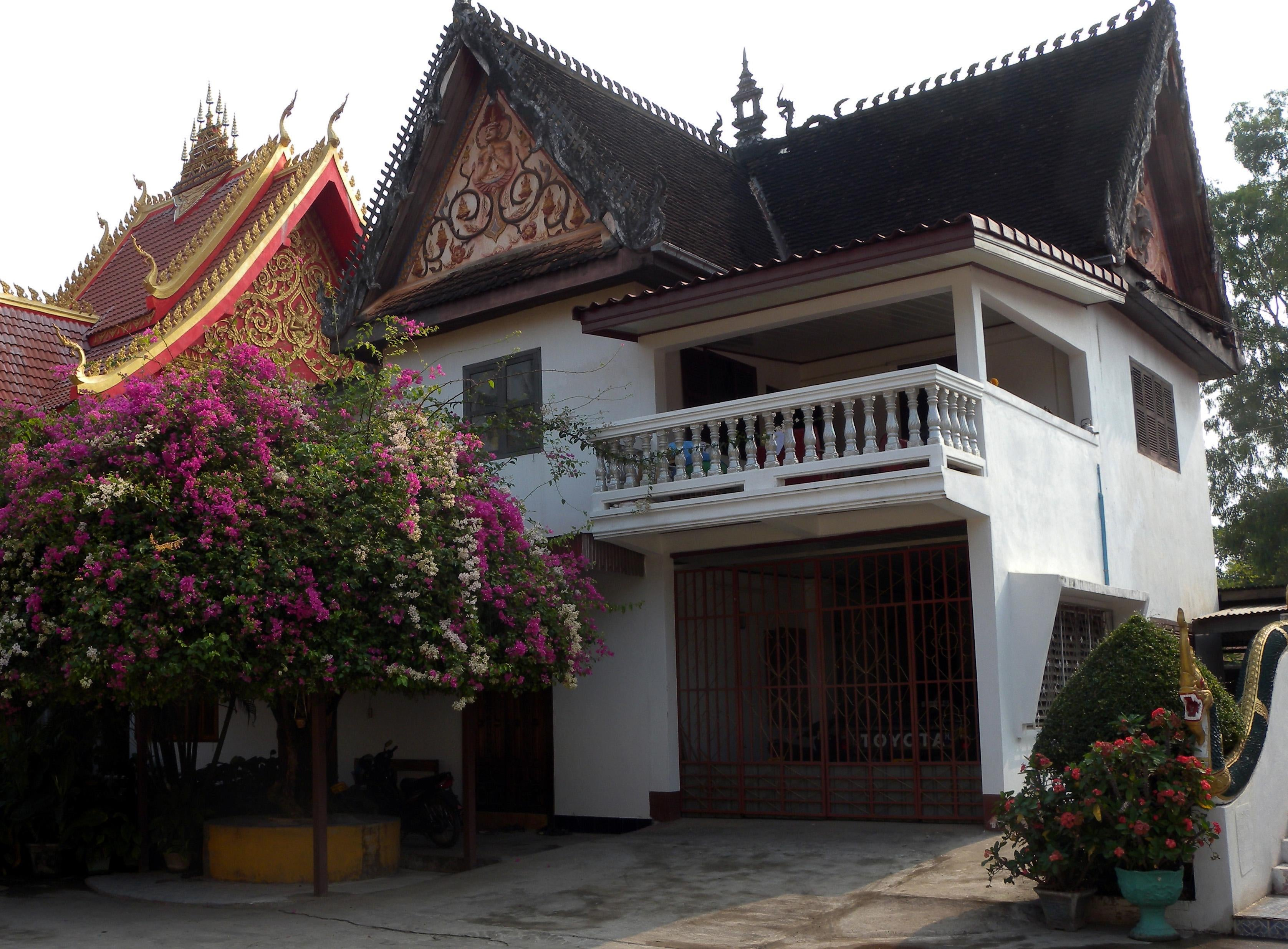 Resort en Wat Si Saket