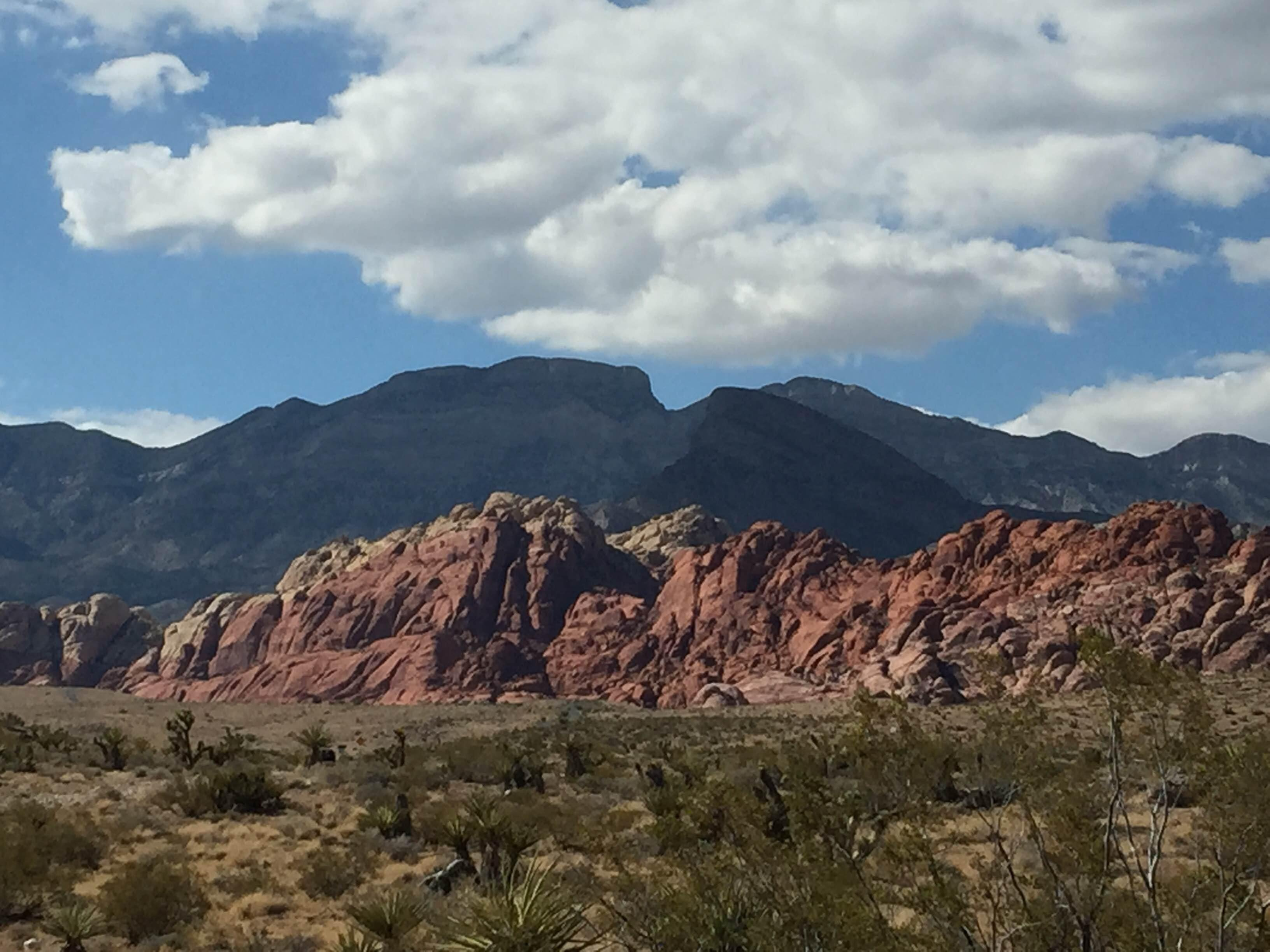Cielo en Red Rock Canyon National Conservation Area
